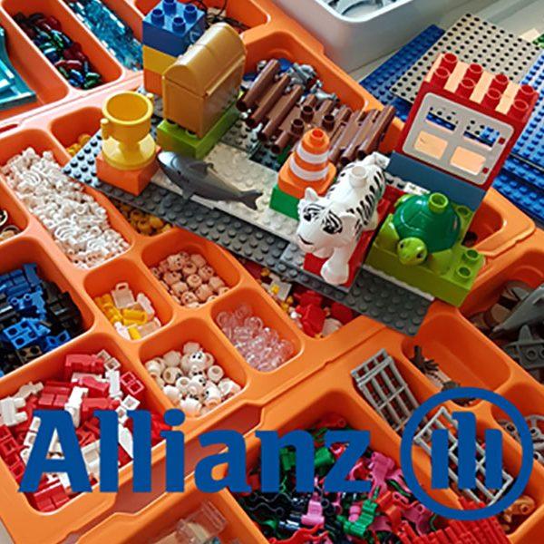In drei Stunden LEGO SERIOUS PLAY Teamworkshop mit Steinbeis Training verbessert die Allianz SE die Regeln der Kommunikation und Zusammenarbeit im Team