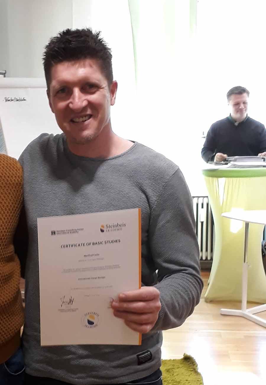 Teilnehmerstimme Manfred Fuchs Neckaralb Live Steinbeis zertifizierte systemische Coaching Ausbildung zum Business Coach
