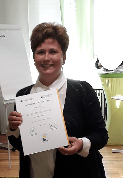 Teilnehmerstimme Anke Mackowiack zertifizierte Ausbildung Change Manager