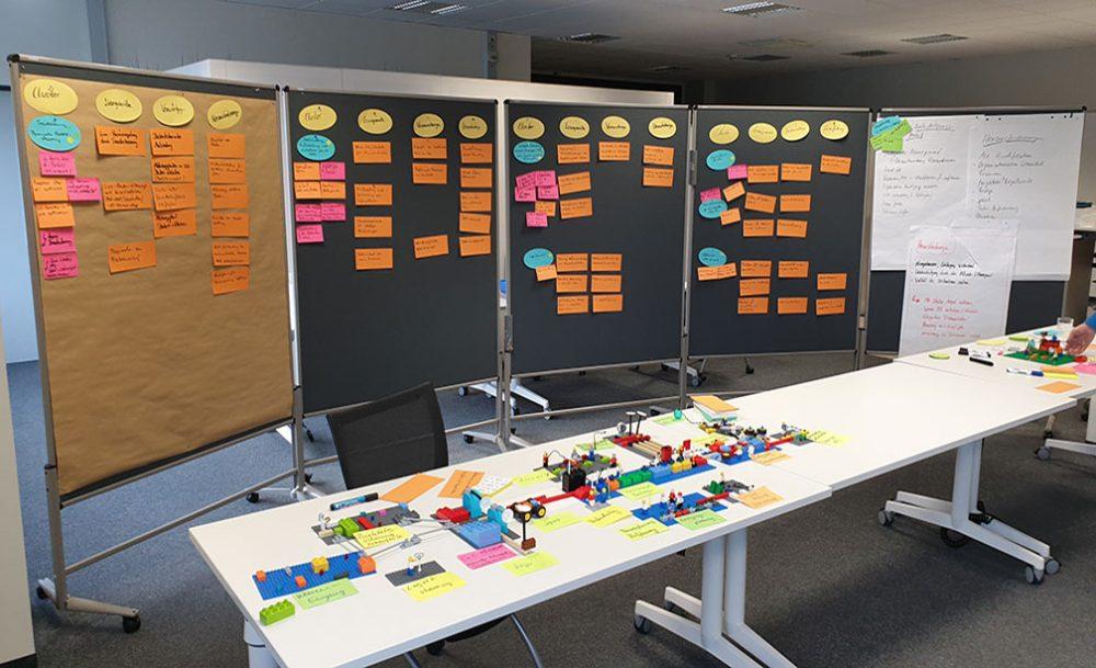 Steinbeis Training Lego Serious Play Workshop Ergebnisse