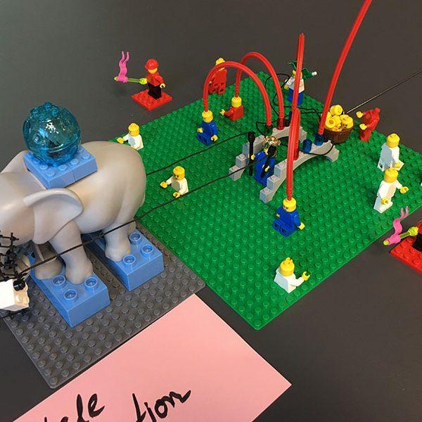 Steinbeis LEGO SERIOUS PLAY Workshop Digitalisierung